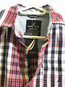 Camisa Náutica 5/6 Años Original Nueva No Gucci Lv Mk Carter