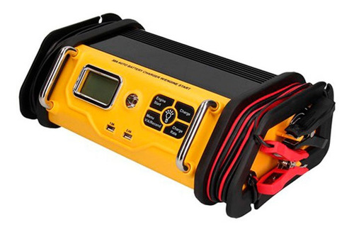 Cargador Arrancador De Bateria 30-75 Amp Con Linterna Hitna