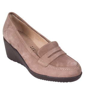 Zapato Lacquer 16 Hrs Mujer Taupe - M806