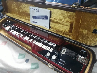 Guitarra De Teclado Instrumento De Japón Con Mesa Especial