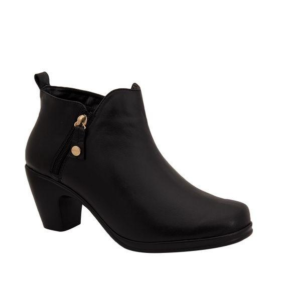 Botines Confort Dama Manet Negro 178791 Cft 1-19 J