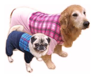 Roupa Cachorro Grande A Pequeno Inverno Frio Macacão