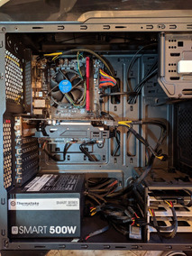 Computador Pc Desktop Intel I5 Gigabyte Ddr4 8gb Ssd Gtx750