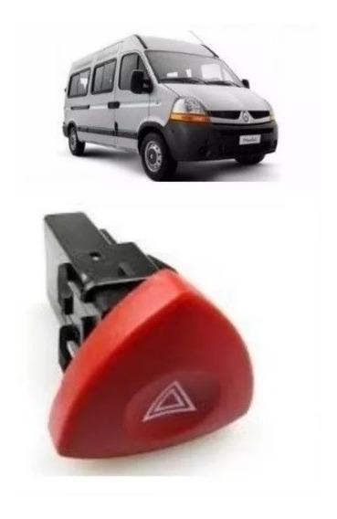 Botão Do Pisca Alerta Renault Master