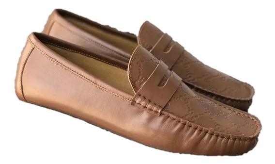Zapatos Mocasin Gucci Deep Brown Envio Gratis