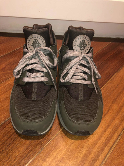 Tenis Nike Air Huarache Se Legion Green Colection