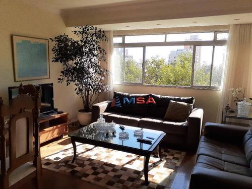 Apartamento Á Venda No Sumaré, Com 102,0 M², 2 Dormitórios . Lavabo E 1 Vaga De Garagem - Ap8746