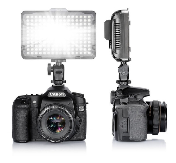 Kit Lampara Profesional Para Video De 176 Leds Incluye Pila