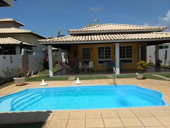 Casa Em Condominio Fechado Com 3 Quartos Suítes 180m2 Em Barra Do Jacuipe - Iur342 - 33571441