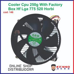 Cooler Cpu 250g With Factory Box Hf Lga 775 520 Horbi