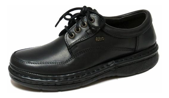 Zapatos Hombre Cuero Febo Comfort Cordon 39/46 806