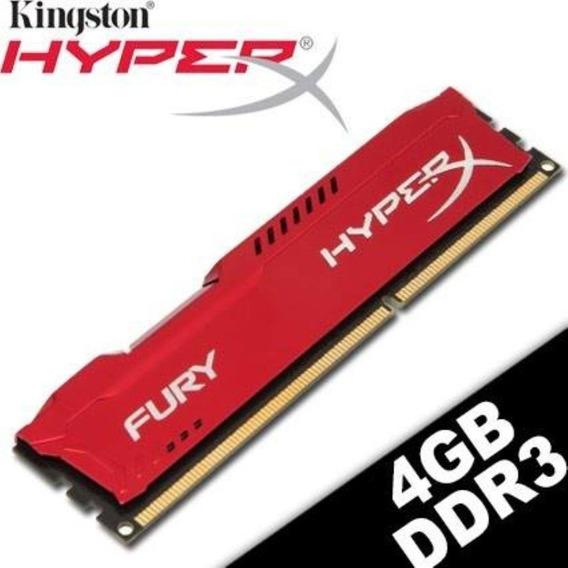 Memória Ddr3 4gb Kingston Hyperx Fury 1600mhz