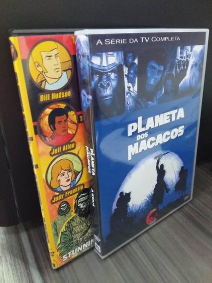 Dvd Planeta Dos Macacos - Serie Tv + Série Animada