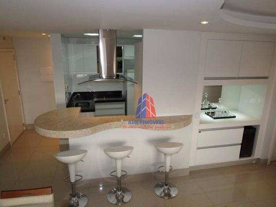 Apartamento Com 2 Dormitórios À Venda, 89 M² Por R$ 635.000 - Residencial Convivere - Jardim São Paulo - Americana/sp - Ap0981