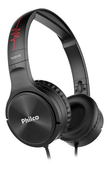 Headphone Multifunções Preto Pfo02p Philco Wave