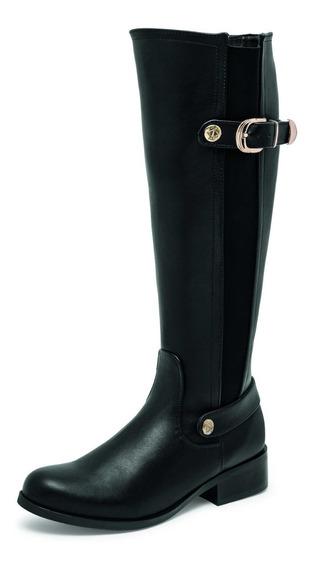 Bota Negra Dama Zapato Mujer 18107 Envio Gratis Casual
