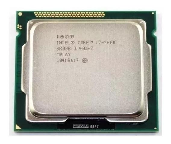 Processador Intel Core I7 2600 1155 3.4 - 3.8 Ghz Frete Gratis