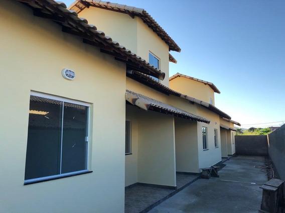 Casa Em Condado De Maricá, Maricá/rj De 45m² 1 Quartos À Venda Por R$ 150.000,00 - Ca294644