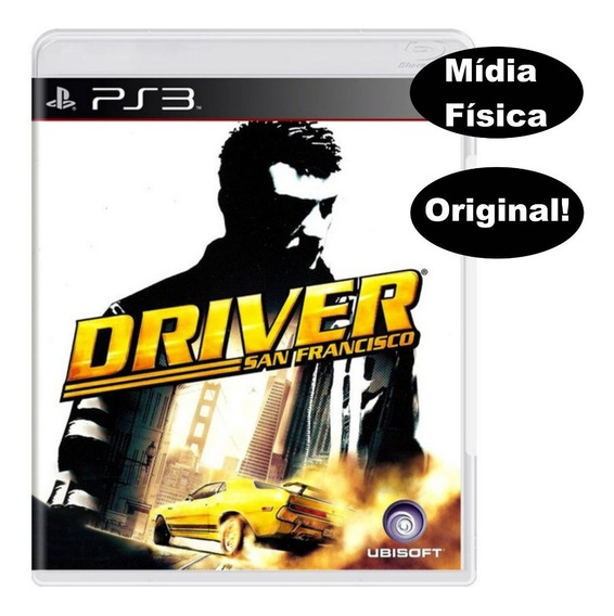 Drive San Francisco Mídia Física Pra Playstation 3 Bloqueado