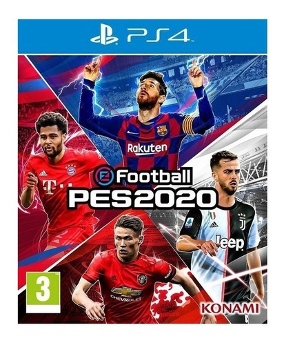 Pro Evolution Soccer 2020 Standard Edition Konami Digital Entertainment PS4 Digital