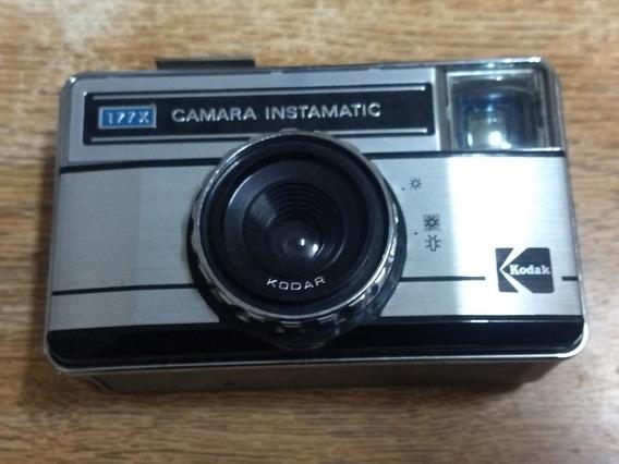 Câmera Kodak 177 X Antiga E Perfeita Peça De Coleção