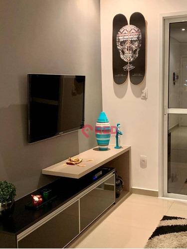 Apartamento Com 2 Dormitórios À Venda, 70 M² Por R$ 290.000,00 - Jardim Das Magnólias - Sorocaba/sp - Ap0333