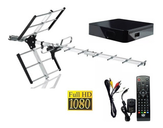 Kit Tda Antena + Sintonizador Hd