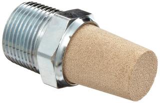 Parker Em37 Em Series Sintered Bronze Muffler/filter, 3/8 N