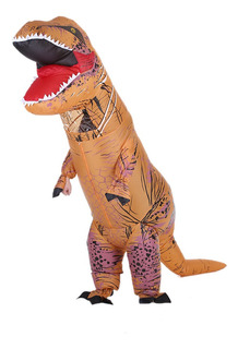 Decdeal Divertido Adulto Inflable Dinosaurio T Rex Traje