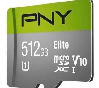 Cartão De Memória 512gb Pny Elite Pro - Class 10
