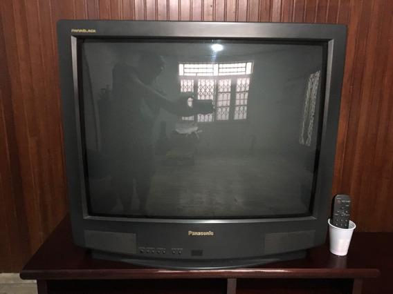Tv 29 Polegadas Panasonic E Rack Padrão Mogno