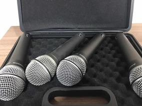 Kit Microfone De Mão Samson Q7 (r$ Unidade 175,00)