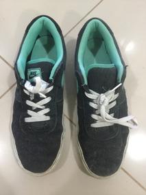 Tênis Nike Sb Preto Camurça Masculino Comprei Em Nyc 42