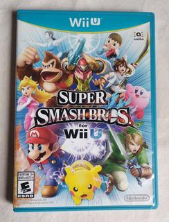 Super Smash Bros. For Wii U - Wii U Perfecto Estado