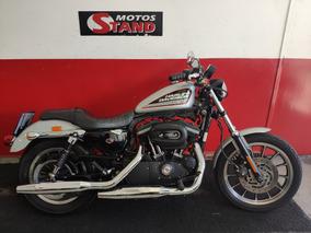 Harley Davison Sportster Xl 883 R 2013 Prata