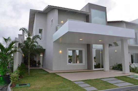 Casa Duplex Com 3 Quartos À Venda, 205 M², Área De Lazer, 3 Vagas - Centro - Eusébio/ce - Ca0100