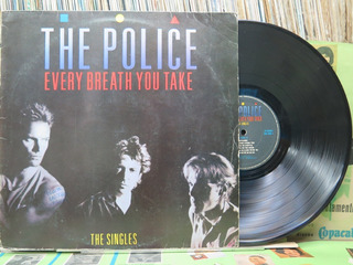 The Police Every Breath You Take The Singles Lp Encarte