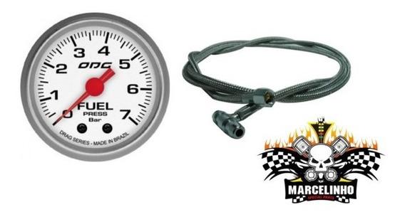 Manômetro Fuel Drag + Kit Pressão Combustivel Aeroquipe