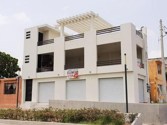 Venta|renta De Edificio En Tampico Fte. Embarcadero En Canal De La Cortadura