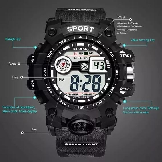 Relógio Masculino Sport + Brinde - Envio Imediato