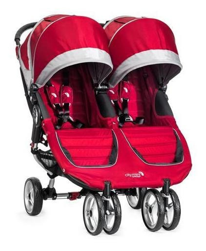 Carriola Baby Jogger City Mini Double Crimson