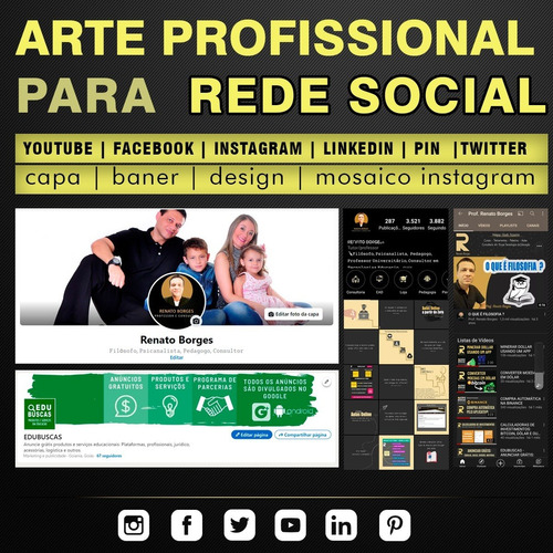 Capa, Banner, Imagem Para Facebook, Instagram Ou Youtube