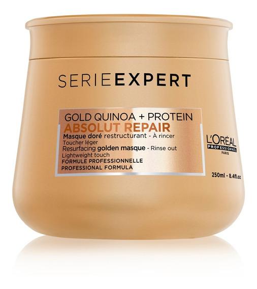 Golden Mask Absolut Repair Gold Quinoa Reparación Loreal Pro