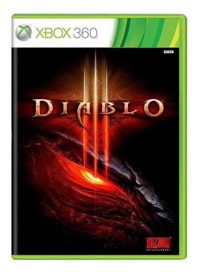 Diablo Iii Xbox 360 Mídia Física Pronta Entrega