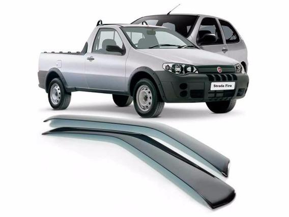 Calha De Porta Fiat Palio / Strada 2 Portas 96/ Strada 3 Por