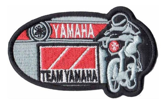Patch P/ Camisa Jaqueta Moto Speed Yamaha Competicao Dv80260