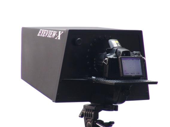 Eyeview-x Com Microfone De Lapela E Pedal Controle Remoto