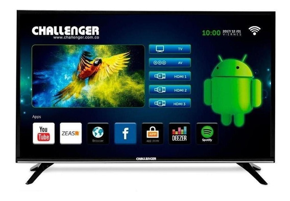Televisor Challenger Led 32t22 Android T2 Smart