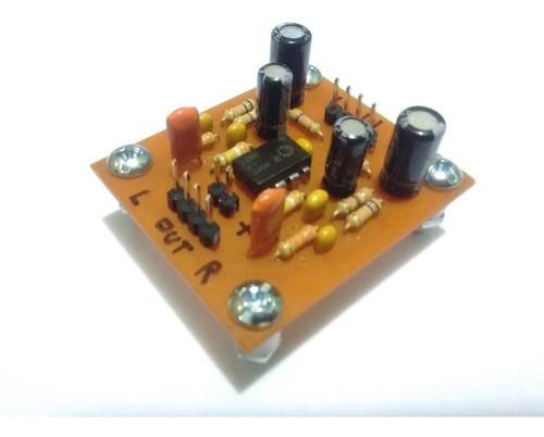 Modulo Preamplificador Riaa Estereo Phono Cápsula Magnética