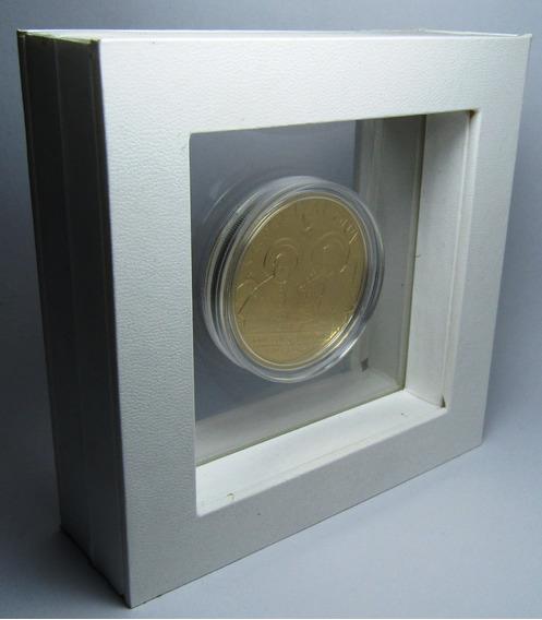 Tanzania Moneda 100 Shillings Laton 2014 Papa Juan Pablo 2